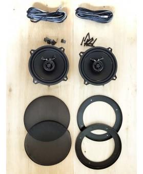 Paire de haut-parleurs ronds 127mm - 80watts RETROR-525N