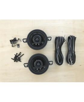 Paire de haut-parleur rond 89mm - 50watts RETROR-352N