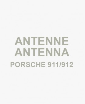 Telescopic antenna chrome for Porsche 911/912