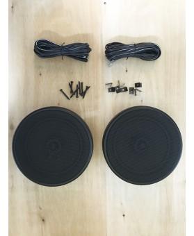 haut-parleur rond 165mm - avec grille