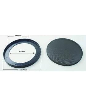 Grille ronde pour haut-parleur de 135mm